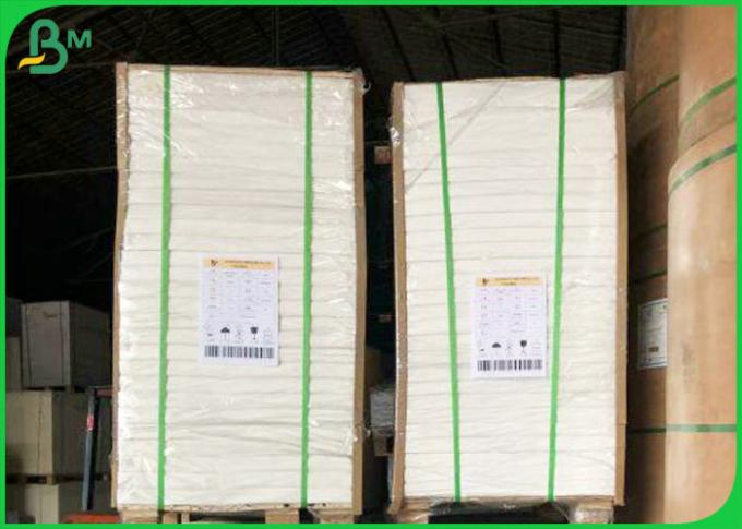 Food Grade 300gram 350gram One Side PE Coated Paper For Making Food Boxes